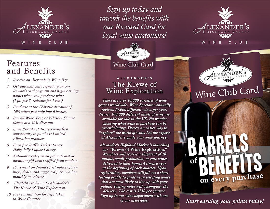Sign up Today and uncork the benefits with our Reward Card for Loyal Wine Customers!