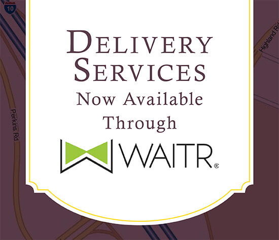 Delivery Through WAITR!